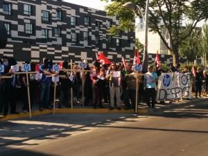 """CGT: """"CGT nos vemos en la obligación de convocar esta huelga indefinida, para defender nuestros puestos de trabajo""""."""