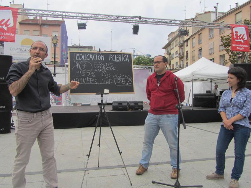 """La Izquierda Plural defiende en Europa """"una educación pública, gratuita, laica y de calidad"""""""