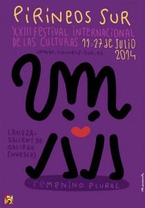 Cartel de la XXX edición de Pirineos Sur.