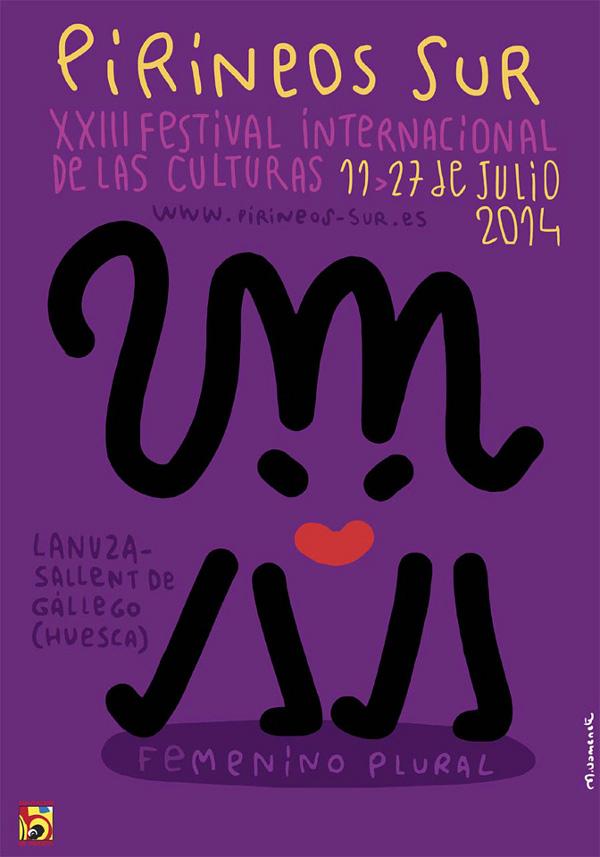 La mujer será la protagonista del festival Pirineos Sur de este año