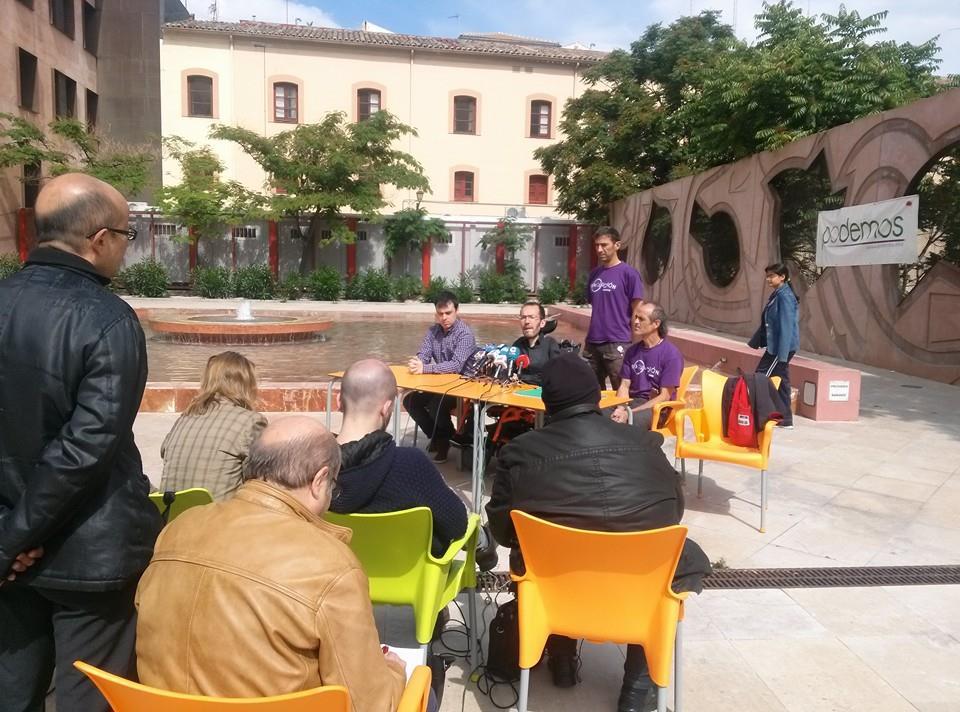 Podemos convoca a la ciudadanía de Zaragoza a un encuentro abierto
