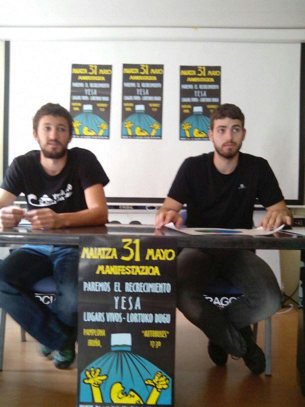 La Asociación Río Aragón llama a la sociedad aragonesa a participar en Iruñea en la manifestación contra el recrecimiento de Yesa