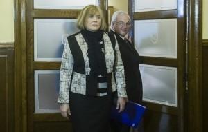 La jueza María Servini, en los juzgados de Gernika. Foto: Luis Jauregialtzo (Argazki Press)
