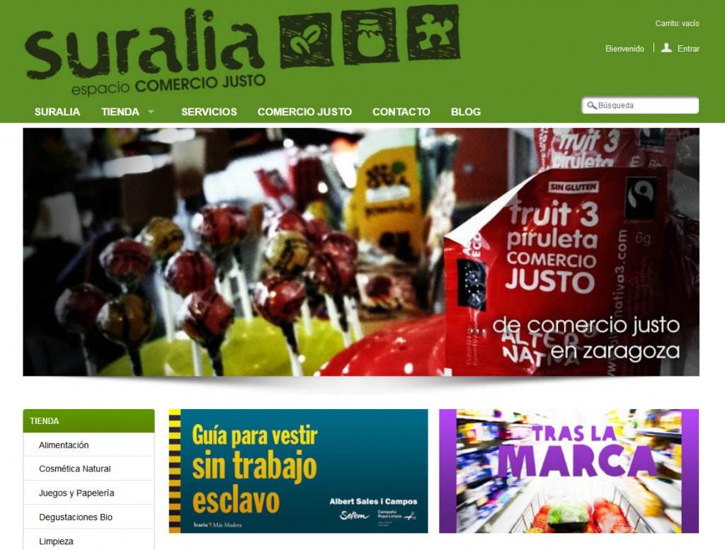 La FAS lanza una página de venta online de productos de Comercio Justo