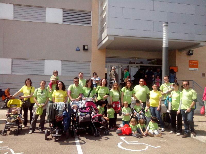 Movilizaciones por la situación de bloqueo en las obras de los colegios Valdespartera 3, Arcosur y Parque Venecia