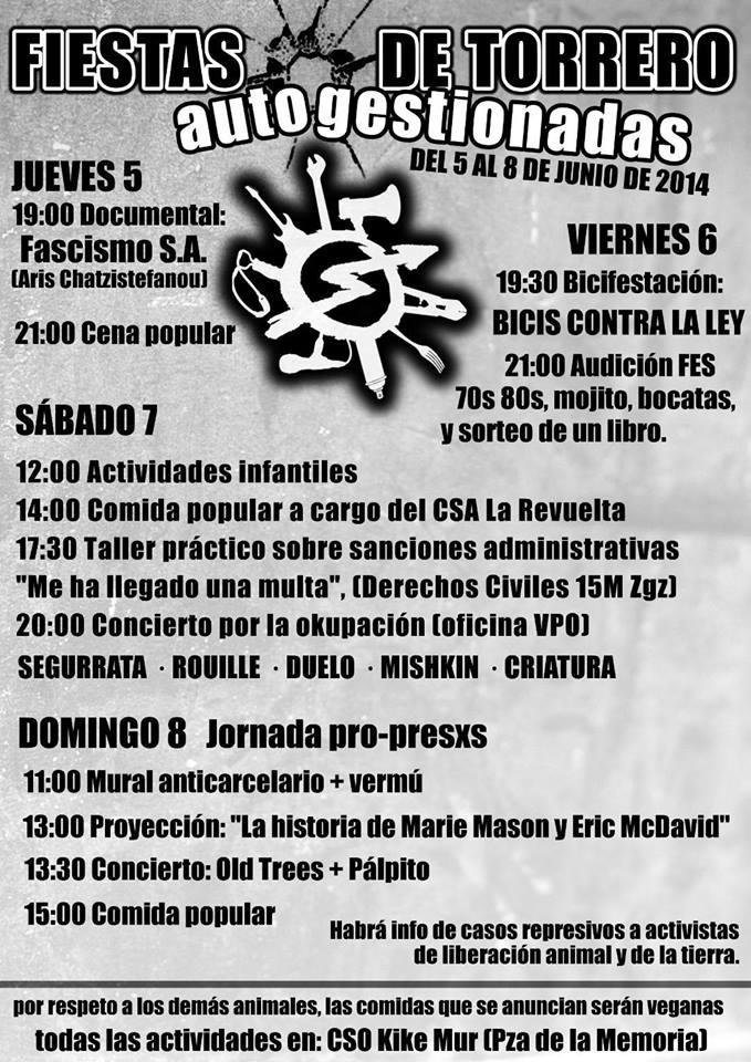 Fiesta y autogestión en Torrero
