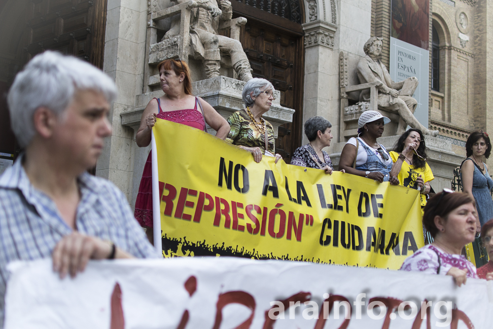 Cuarenta ciudades de Europa y América denuncian la represión del gobierno español contra las protestas sociales