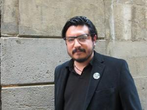 El escritor mexicano Eduardo Ruiz Sosa estará esta tarde en La Pantera Rossa.