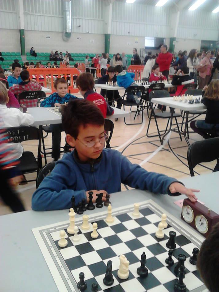 300 escolares jugarán al ajedrez en un torneo en Cadrete