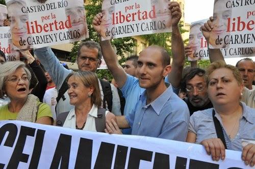Aplazado hasta final de julio el ingreso en prisión de Carmen y denegada la suspensión de la entrada de Carlos