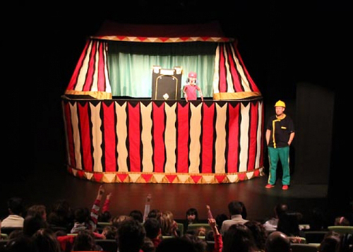 """La troupe de """"El pequeño circo de Renato Carolini"""" llega este fin de semana al Teatro Arbolé"""