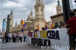 Concentración por la República 11 de Junio. Foto: Pablo Ibañez