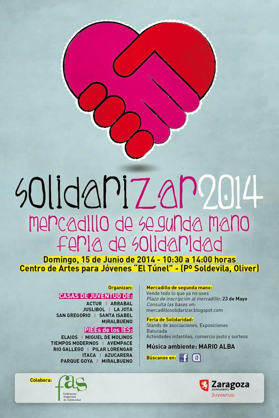 Solidarizar 2014, la Feria de la Solidaridad, llega este domingo al barrio Oliver