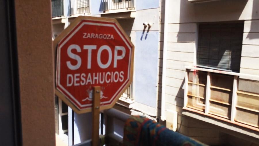Stop Desahucios Zaragoza convoca movilizaciones frente a Bantierra