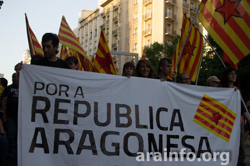 Purna y Puyalón se manifestarán por una República aragonesa