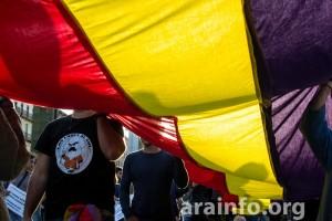 A moción s'apreba con os votos de CHA, IU y parte d'os concellers d'o PSOE. Foto: Pablo Ibañez (AraInfo)