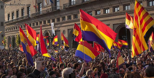 Aragón celebra numerosos actos en conmemoración de la II República