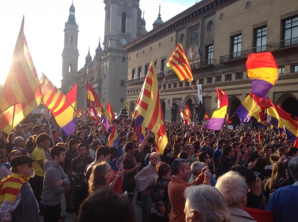 Diferentes colectivos republicanos de Zaragoza se reúnen para conformar una coordinadora