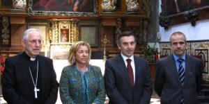 Agustín García-Inda (primero por la derecha) | Foto: Archivo
