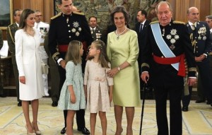 La familia real.