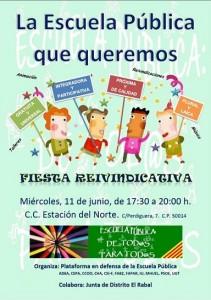 cartel-fiesta-11-junio escuela publica