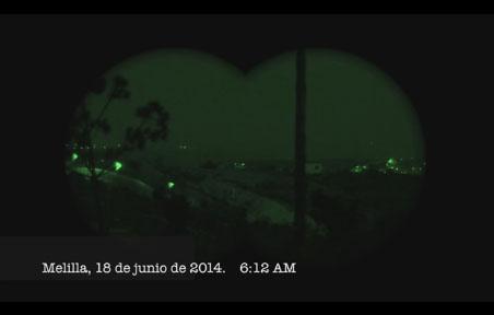 Prodein muestra palizas a inmigrantes en el interior de la valla de Melilla