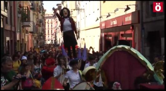 Ascienden a tres los detenidos en Iruñea por los actos de conmemoración del gaztetxe Euskal Jai