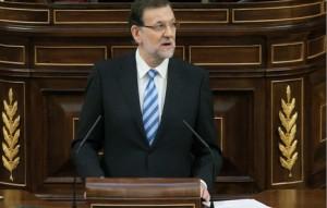 Mariano Rajoy en el Congreso español. Foto: Congreso.es