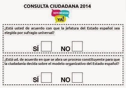 Comienza el referéndum por el «derecho a decidir y participar»