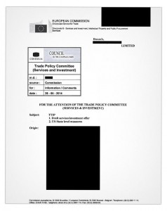 Portadilla del documento filtrado. Foto: Diagonal