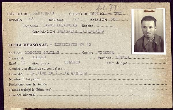 Vicente Monclús, un antifascista aragonés en los campos de Stalin