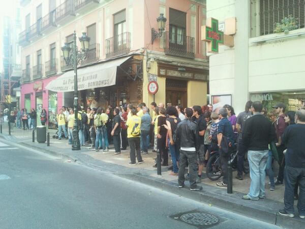 CGT se opone a los expedientes sancionadores por el escrache a Gimeno durante la huelga de jardineros