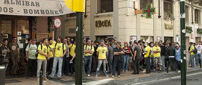 La FABZ exige al delegado del Gobierno la retirada de las multas «a los sindicalistas y jardineros municipales»