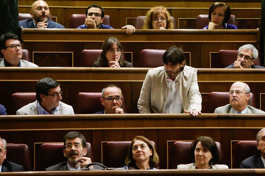"""Álvaro Sanz: """"Los presupuestos para 2016 son la culminación de una Legislatura nefasta para la sociedad y para las reivindicaciones de Aragón"""""""