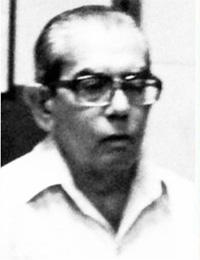 Benito Pabón, durante su etapa de profesor en la Universidad de Panamá.