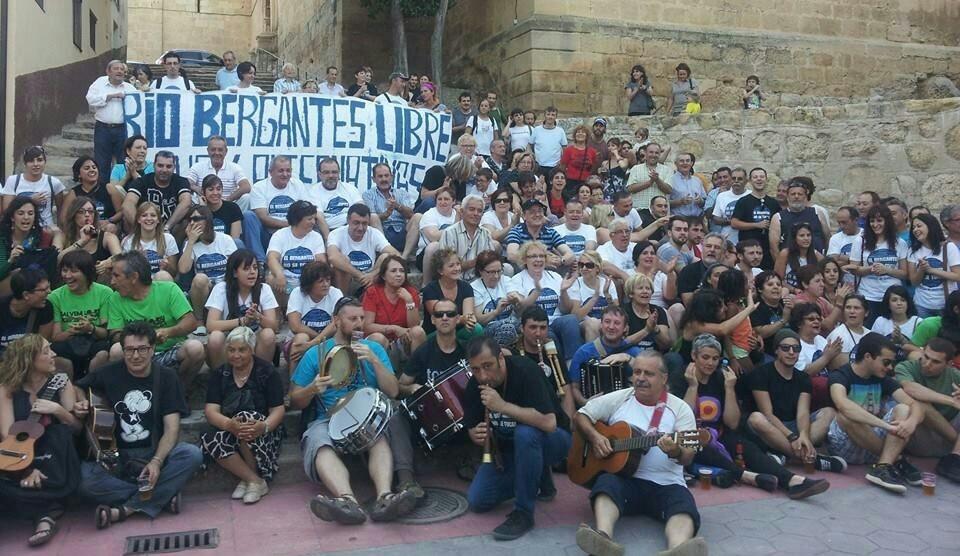 Aguaviva defiende el Bergantes en una jornada reivindicativa y cultural