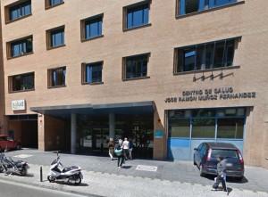 Centro de Salud Sagasta.