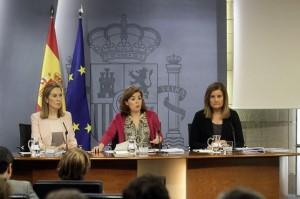 Consejo de ministras. Foto: Moncloa