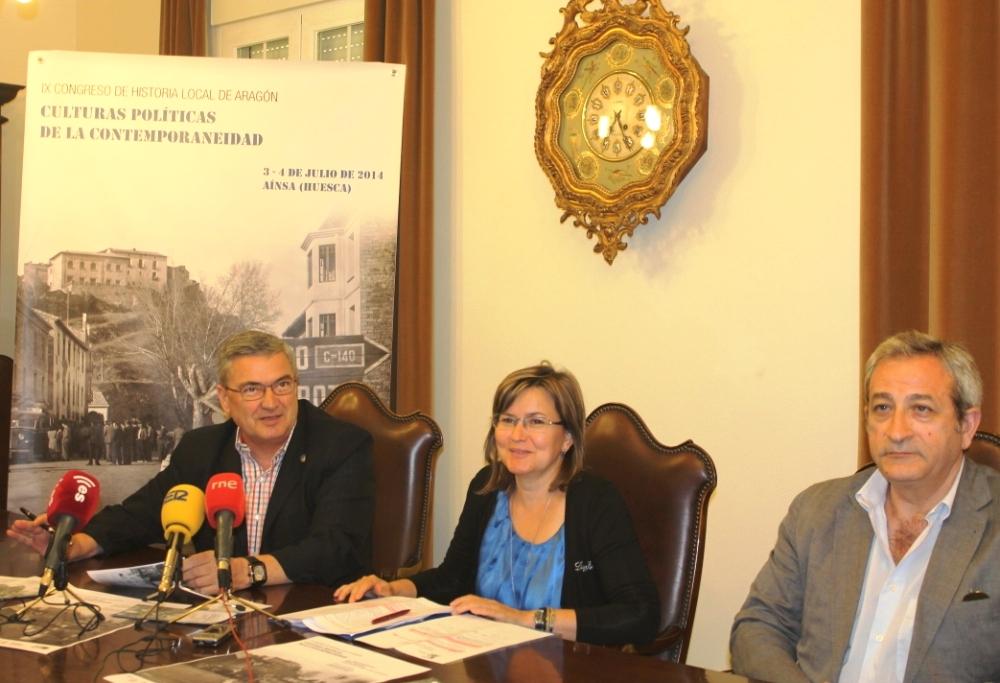 """Comienza el """"IX Congreso de Historia Local de Aragón"""" en L'Aínsa"""