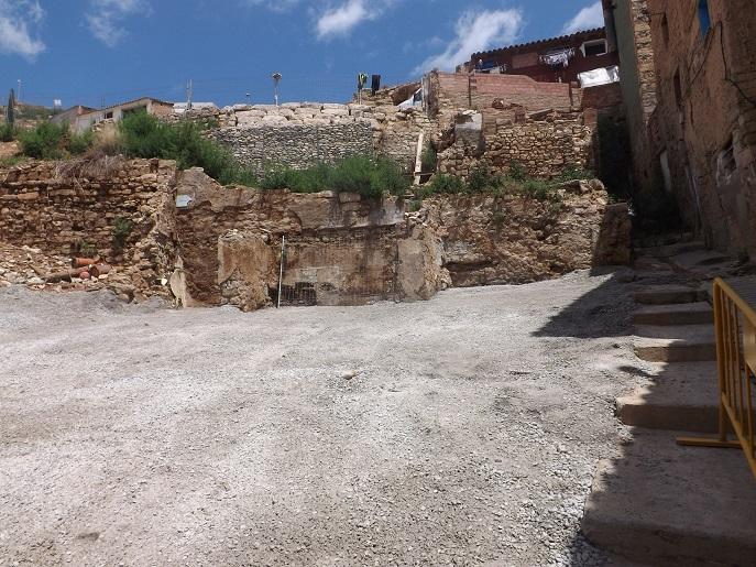 IU pregunta al Ayuntamiento de Fraga por las obras de acondicionamiento de la calle Roqueta