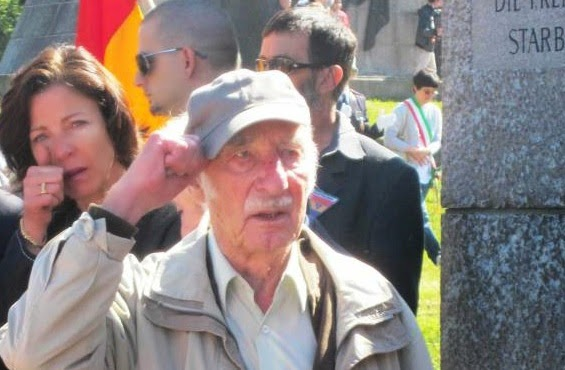 """Gert Hoffmann: """"Zaragoza significa mucho para mí porque me proporcionó los papeles para escapar de la Gestapo"""""""