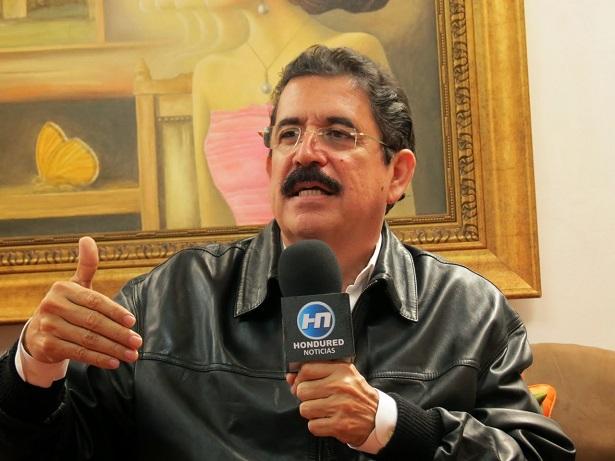 """Manuel Zelaya: """"Cinco años después del golpe, Honduras está peor que nunca"""""""