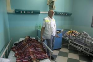 Hospital en Gaza. Foto: Anne Paq