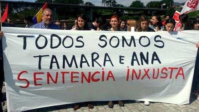 Paralizada la entrada en prisión de cuatro trabajadores hasta que el Gobierno resuelva el indulto