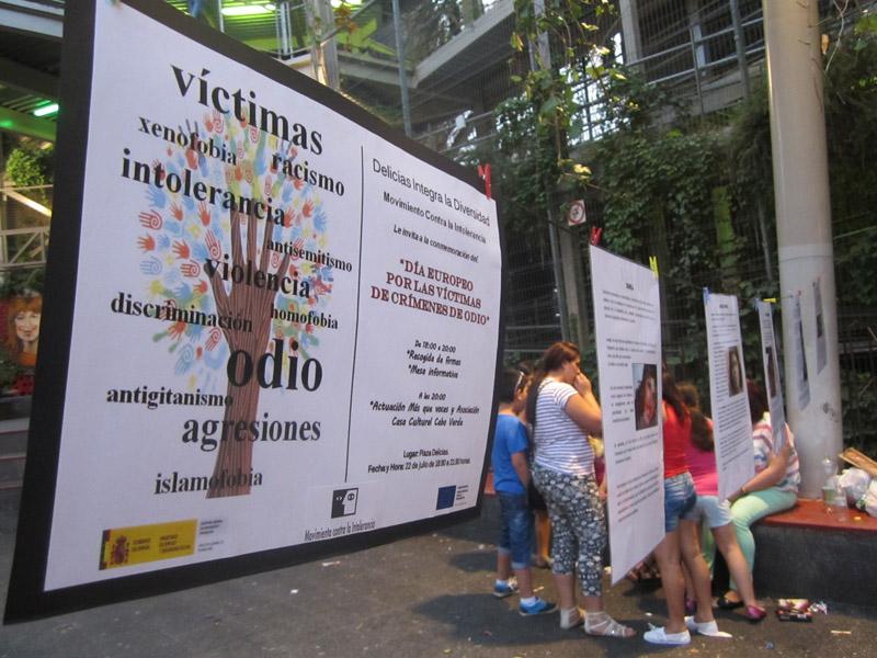 El Movimiento contra la Intolerancia recordó a las víctimas de crímenes de odio