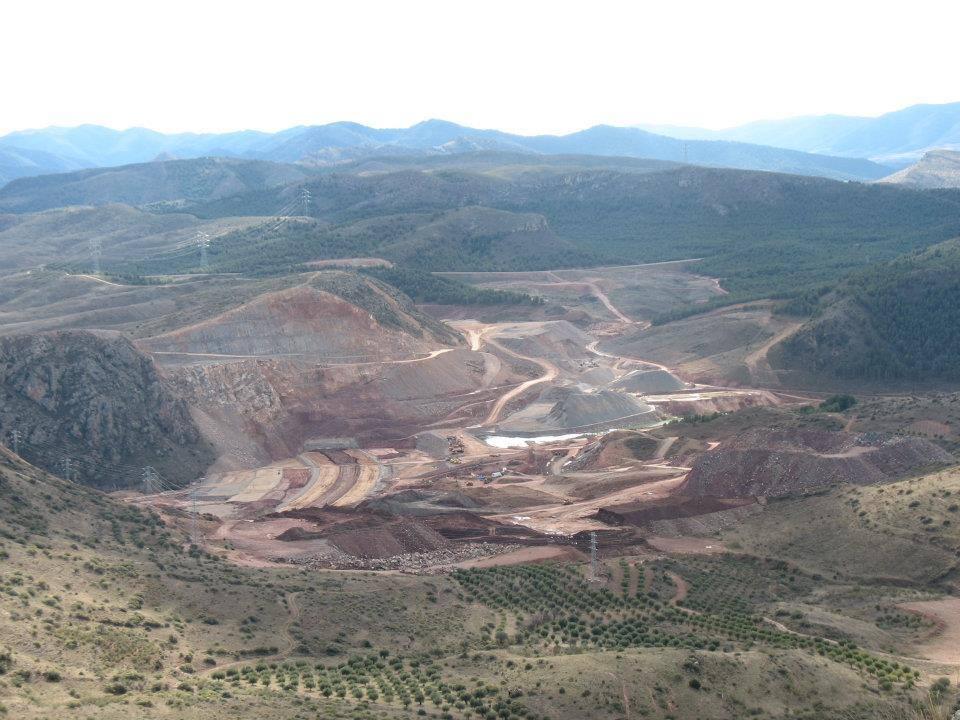 """La Plataforma Jalón Vivo y Coagret manifiestan su """"preocupación"""" por el """"grave peligro"""" que suponen las obras de la presa de Mularroya"""