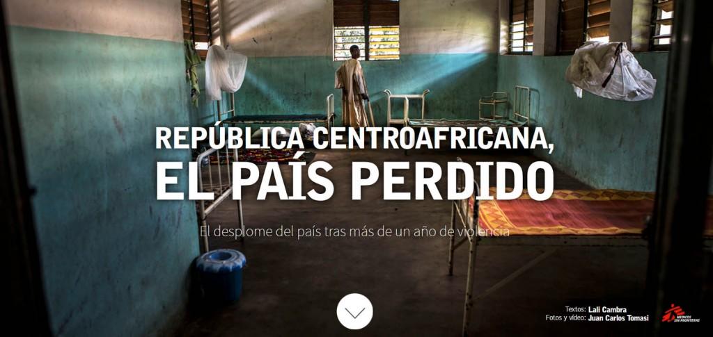 República Centroafricana, el país perdido