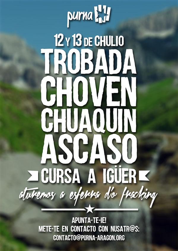 12 y 13 de chulio se ferá a Trobada Choven Chuaquín Ascaso