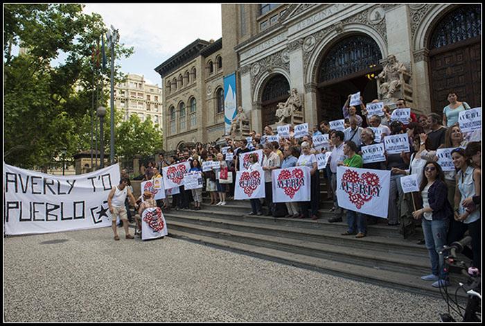 El Ayuntamiento de Zaragoza solicita al TSJA que paralice el derribo de Averly
