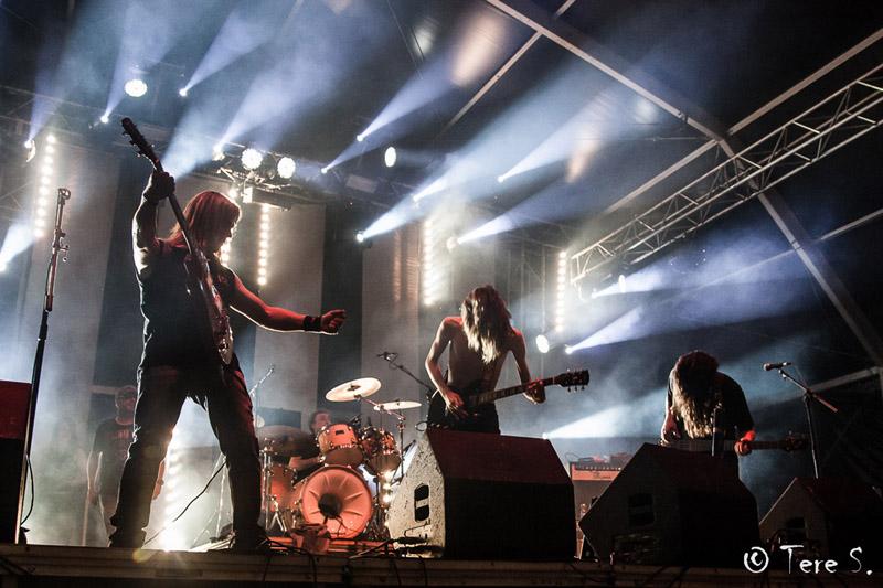 Alpartir celebra este sábado el XI festival MinaRock con Los Gandules, Black Ice y tres bandas locales